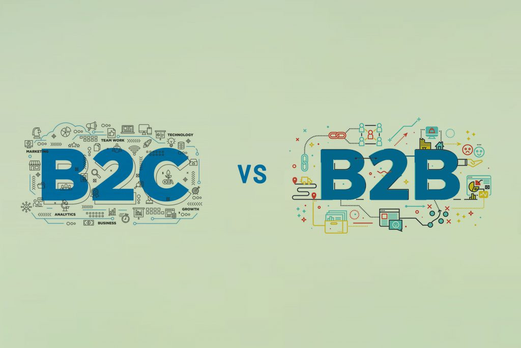 B2B and B2C sales